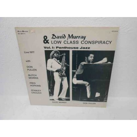And Low Class Conspiracy. Vol 1