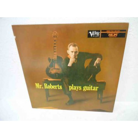 Mr Roberts Plays Guitar (Japan Issue) Mono