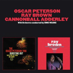 Oscar Peterson - Ray Brown - Cannonball Addeley