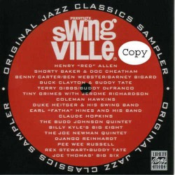Swingville Original Jazz Classics Sampler