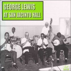 George Lewis at San Jacinto Hall