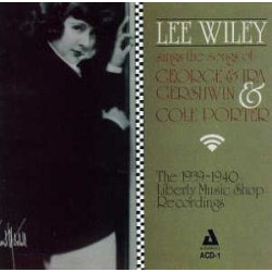 Lee Wiley Sings Porter and Gershwin