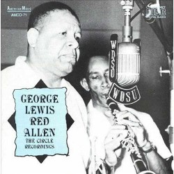 George Lewis and Red Allen