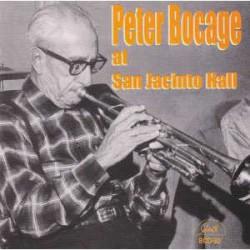 Peter Bocage at San Jacinto Hall