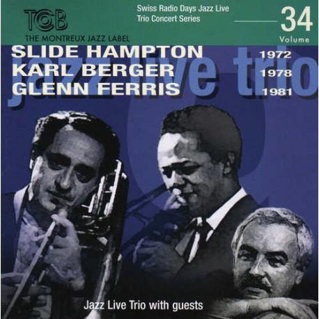 SRD Vol. 34 - Jazz Live Trio with Friends