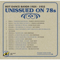Unissued on 78 - Vol. 3