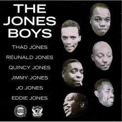 Thad Jones, Reunald Jones, Quincy Jones (Cut Out)