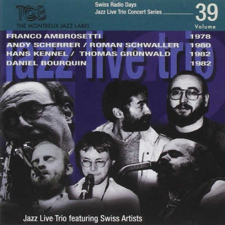 SRD Vol. 39 - Jazz Live Trio with Guests