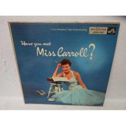 Have You Met Miss Carroll? (Orig. Us Dg)