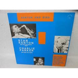 Kenton and Bird w/ Charlie Parker & Dizzy G.
