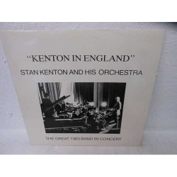 Kenton in England. the Great 1963 Band Live