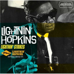 Lightnin` Strikes + Lightnin`Hopkins