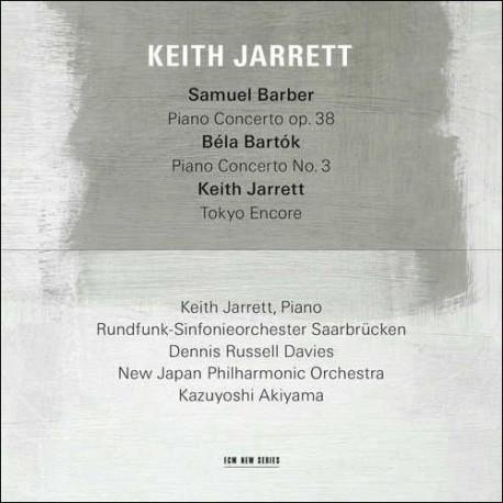 Samuel Barber - Bela Bartok - Piano Concertos