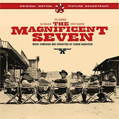 The Magnificent Seven Film Soundtrack + 4 Bonus