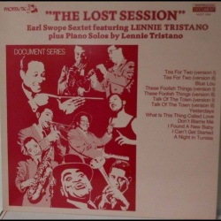 The Lost Sessions W/ The Earl Swope Sextet