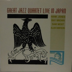 Great Jazz Quartet Live in Japan (Rare Japanese)