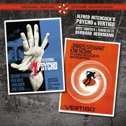 Psycho + Vertigo Original Soundtracks + 2 Bonus