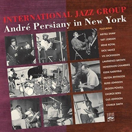 International Jazz Group: Andre Persiany in N.Y.
