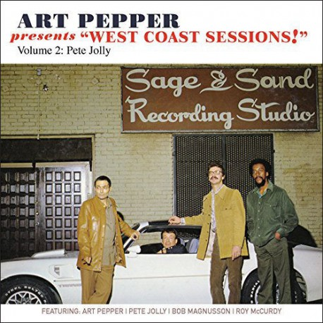 West Coast Sessions - Vol. 2 - Pete Jolly