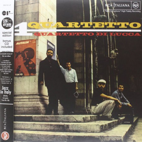 Quartetto 180 Gr. Gatefold Lp Reissue + Cd