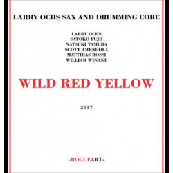 Sax and Drumming Core - Wild Red Yellow