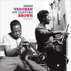 With Clifford Brown