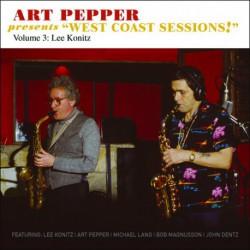 West Coast Sessions - Vol. 3 - Lee Konitz