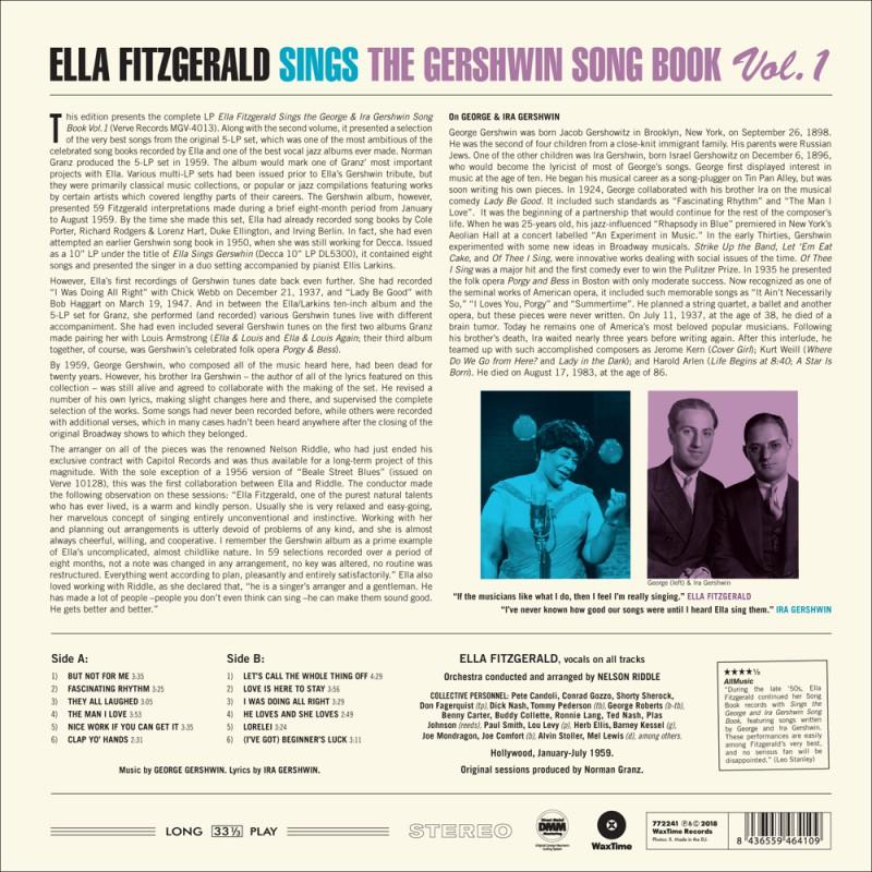 Sings the Gershwin Song Book Vol  1 - Jazz Messengers