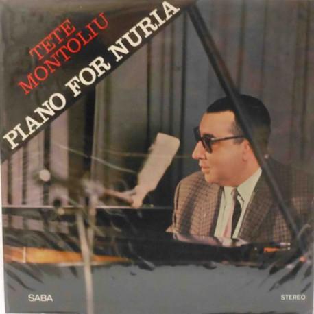 Piano for Nuria (Original 1st Pressing) Near Mint