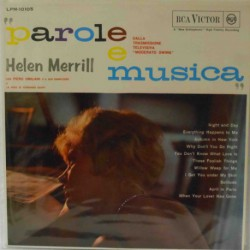 Parole e Musica W/ Piero Umiliani (Original 1st Pr