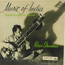 Music of India: 3 Classical ragas (UK Mono)