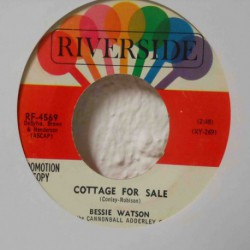 Cottage for Sale W/ Cannonball Adderley (Promo 7´´