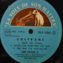 Coltrane (Rare French Generic Cover Issue)