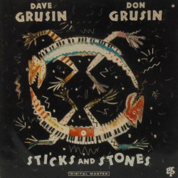 Sticks and Stones W/Don Grusin (German) Cut-Out