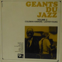 Geants du Jazz W/ Lester Young (French Pressing)