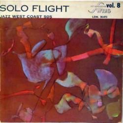 Solo Flight w/ Chet Baker (Rare French Mono Reiss)