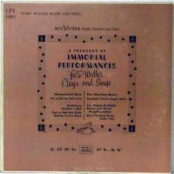 A Treasury of Immortal Performances (US Mono)