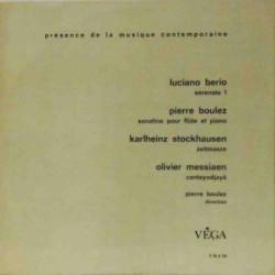 Presence de la Musique Contemporaine (Rare FR)