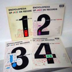 Encyclopedia of Jazz on Records (4 Lp Lot)