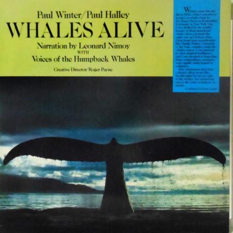 Whales Alive w/ Paul Halley (Dutch Pressing)