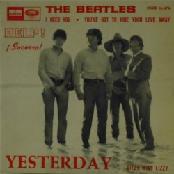 Yesterday (Spanish 7 Inch EP)