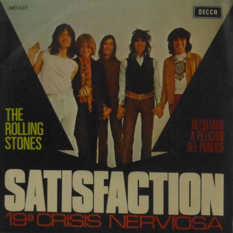 "Satisfaction/19th Nervous Breakdown (Spanish 7"")"