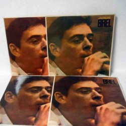 Jacques Brel (4 Lp Lot, Spanish Reissue)
