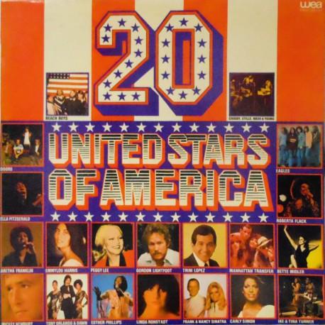 20 United Stars of America (Spanish Reissue)