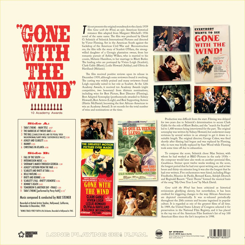 Gone with the Wind Original Soundtrack - Jazz Messengers