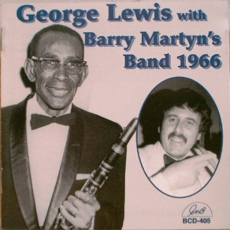 George Lewis with Barry Martyn`S Band 1966
