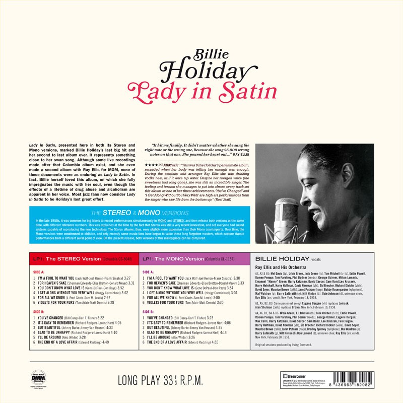 Lady in Satin (Stereo & Mono Versions) - Jazz Messengers