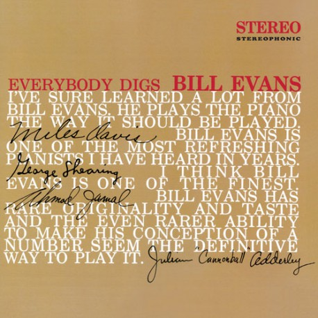 Everybody Digs Bill Evans (Colored Vinyl)
