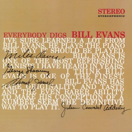 Everybody Digs Bill Evans (Colored Vinyl)