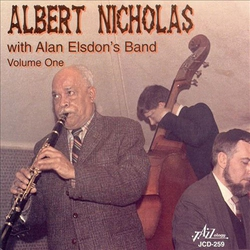 Albert Nicholas with Alan Elsdon`S Band Vol. 1